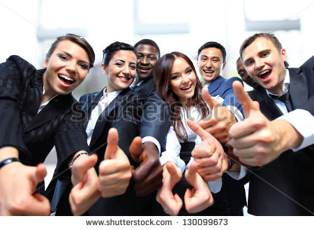 stock-photo-successful-business-people-with-thumbs-up-and-smiling-130099673