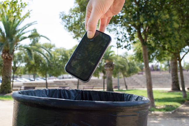 recycle my mobile