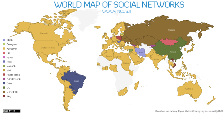 thebusinesspunk.com - world maps 1 of social networks